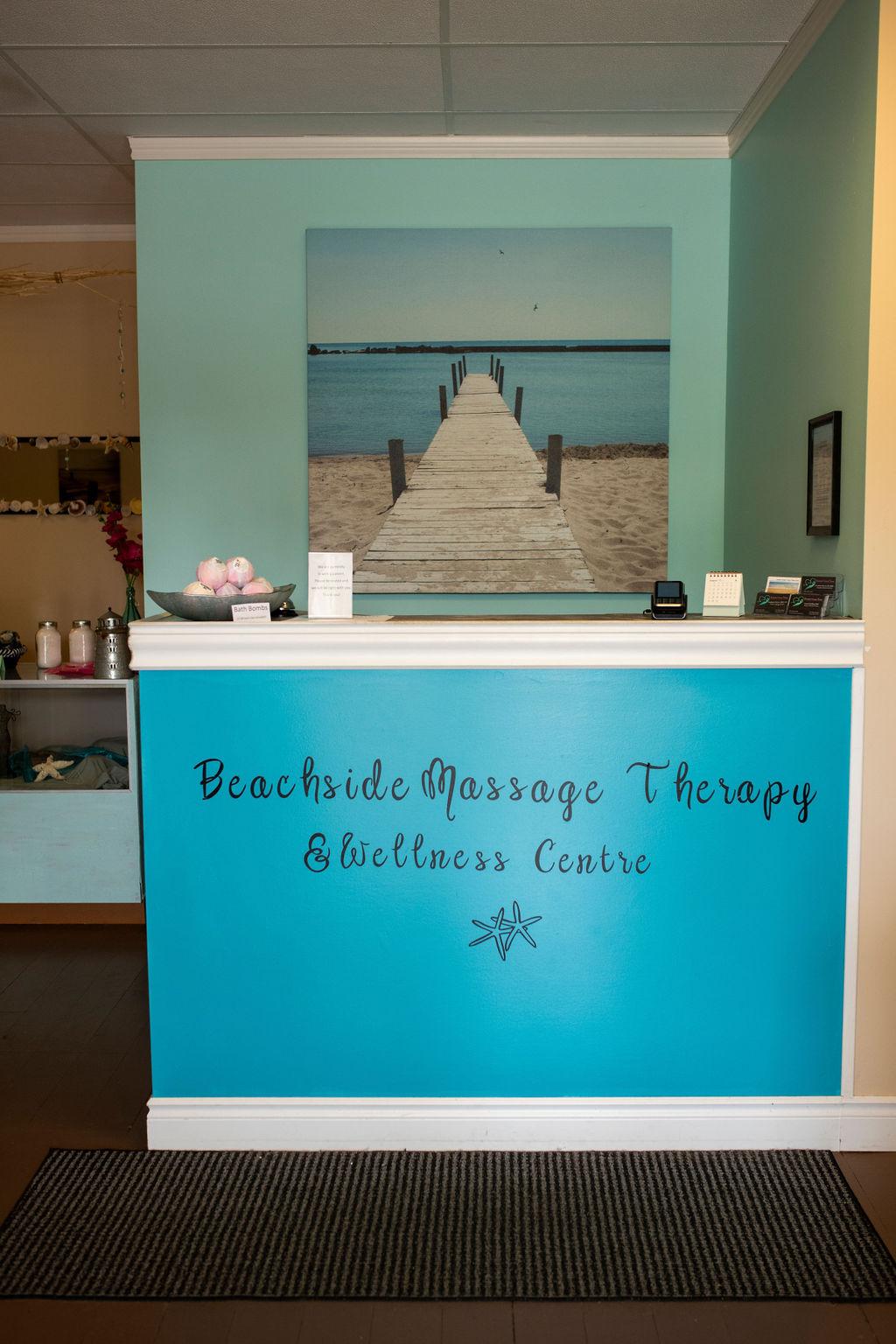 Beachside massage therapy